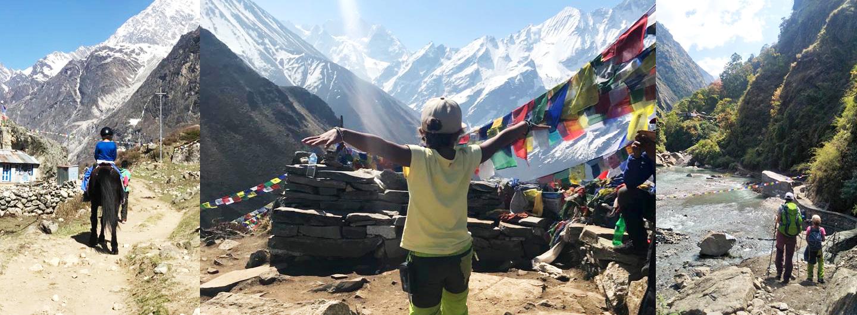 Nepal gemeinsam mit Kind entdecken